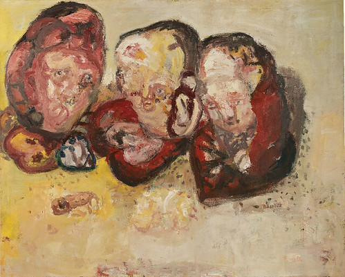 [ B ] Georg Baselitz - Three hearts (1963)