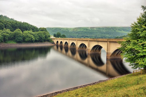 Ladybower Reservoir Bridge