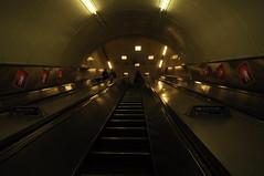 Waterloo escalators