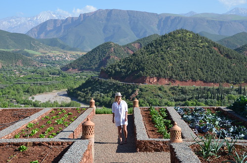 high crochetting in the atlas mountains
