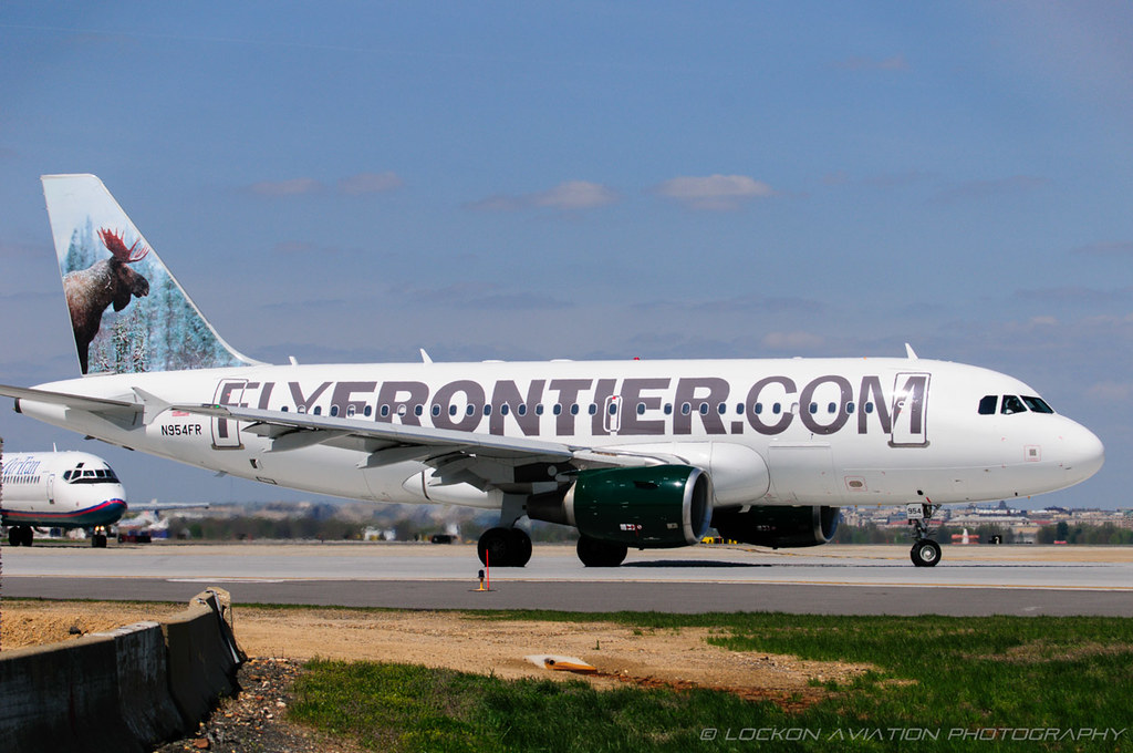 17-Apr-2014 DCA N954FR A319-112 (cn 1786) / Frontier Airlines