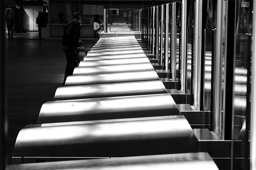 street urban black paris noir noiretblanc garedelest rue streetview photoderue blackandwithe urbanarte portiques photopascalcolin portiquesautomatiques