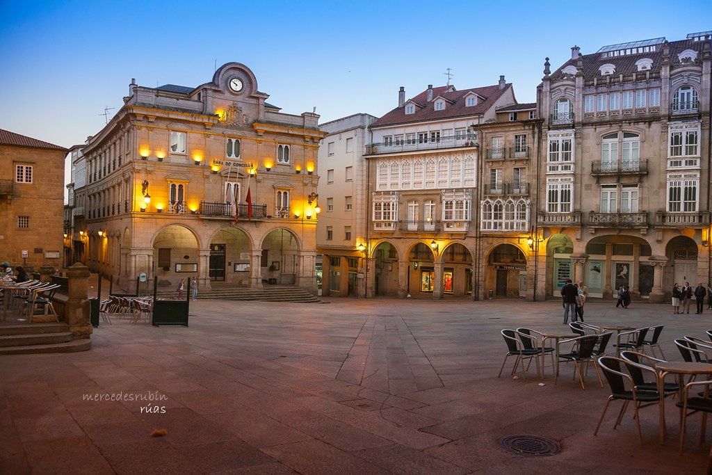 Plaza Mayor de Ourense