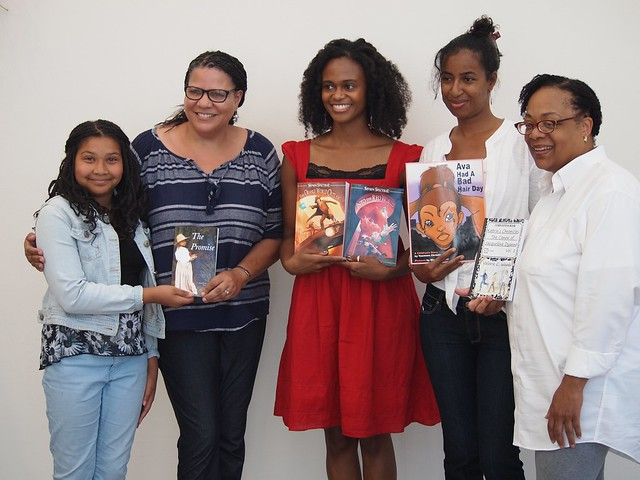 LIteracy Day event at California African-American Museum, Los Angeles, CA - 067