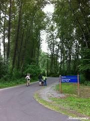 Cycling Burke-Gilman Trail