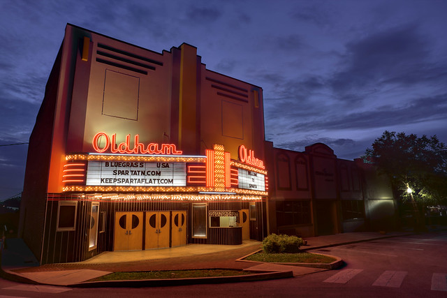 Oldham Theater Sparta Tennessee Flickr Photo Sharing
