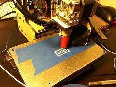 Printing a Brick on My New Printrbot Simple