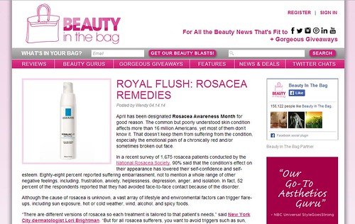 Dr. Joel Schlessinger discusses new rosacea treatments with Beauty in the Bag
