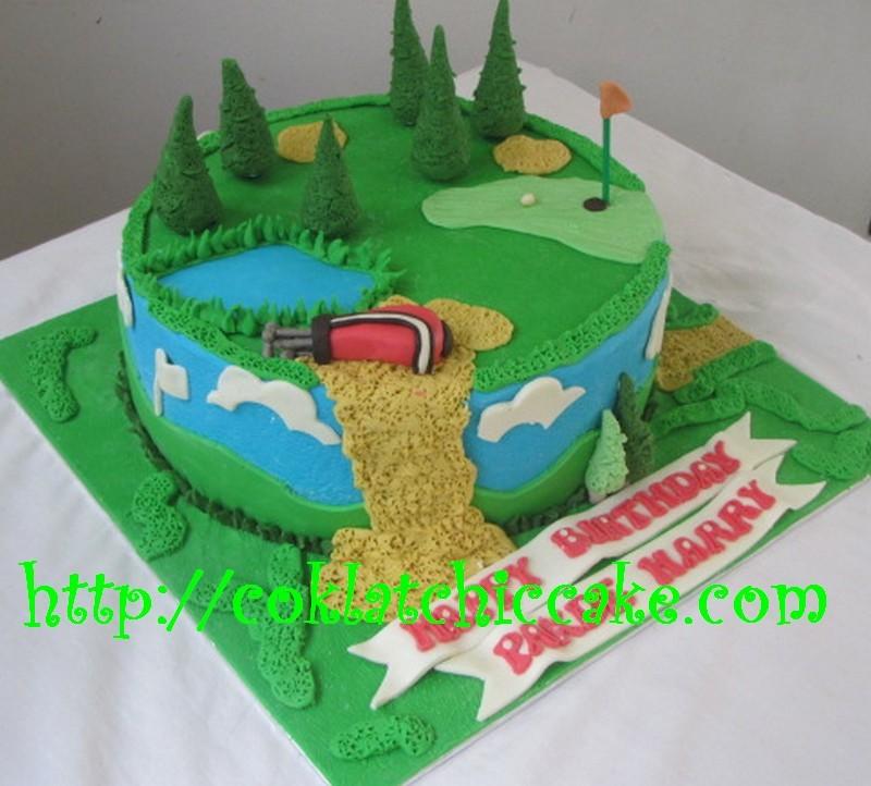 Kue ulang tahun golf PAKDE HARRY Jual Kue Ulang Tahun
