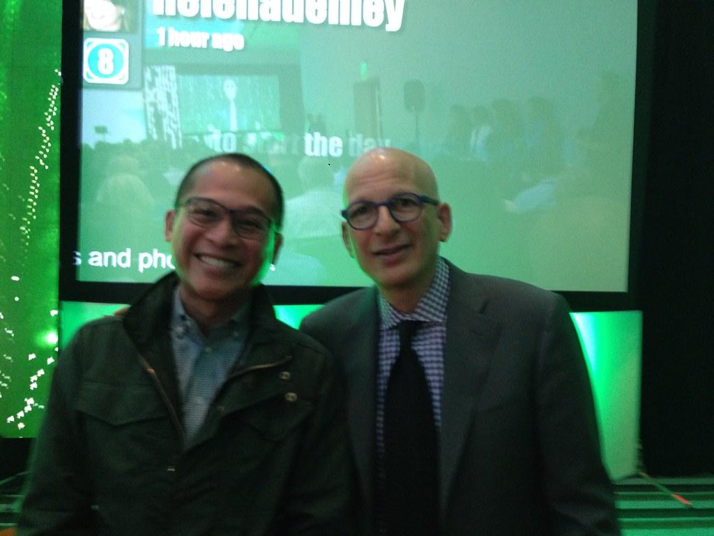 JC and Seth Godin