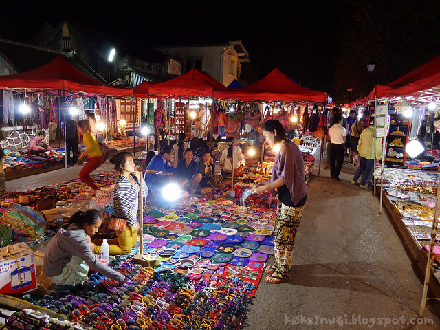 Luang Prabang Handicraft Night Market