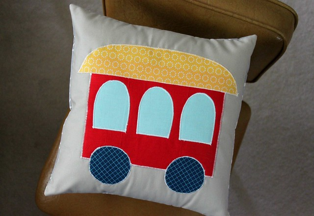 Train Pillow Car!