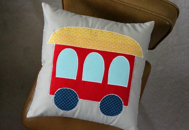 Train Pillow Car!