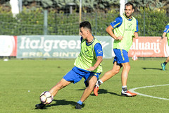 Allenamento Chievo Verona