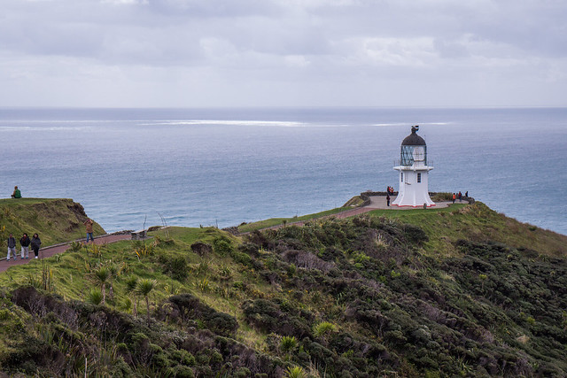 Cape Reinga lighthouse-North Island New Zealand Road Trip | New Zealand North Island Itinerary | must see | Attractions | Things to do in NZ | Tours | Points of interest | What to see | Highlights | Places to see | Budget Guide | Fun things | Camper van | Motorhome