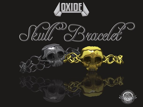 OXIDE Skull Bracelet - The Nightmare 2016 Hunt Gift