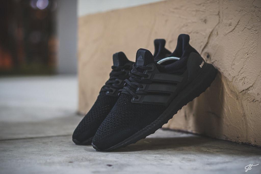 ... Adidas Ultra Boost - Triple Black Custom  02b7004ef