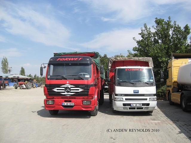 20100922 06 CENTRAL TURKEY mercedes and bmc lorries | Flickr - Photo ...
