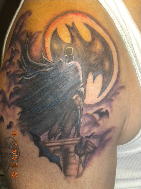 batman tattoo 216 tattoo arturo delgado