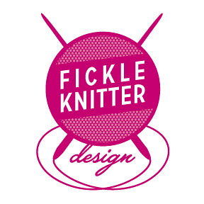 Beautiful Fickle Knitter Logo by Tracy Harris