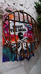 Shoot the Bank behind bars by JP Malot