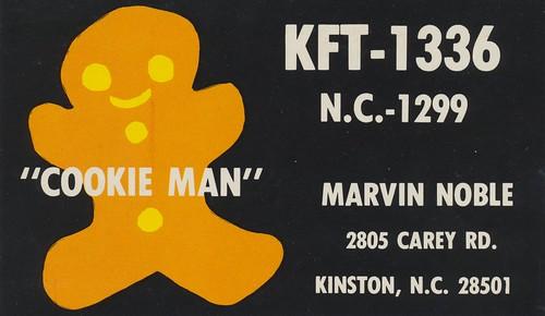 radio vintage northcarolina card qsl cb kinston cbradio citizensband qslcard