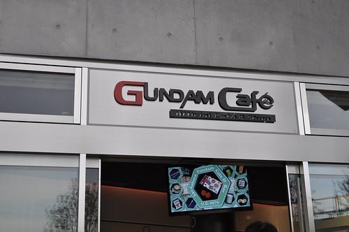 ダイバーシティ東京プラザ ガンダムカフェ