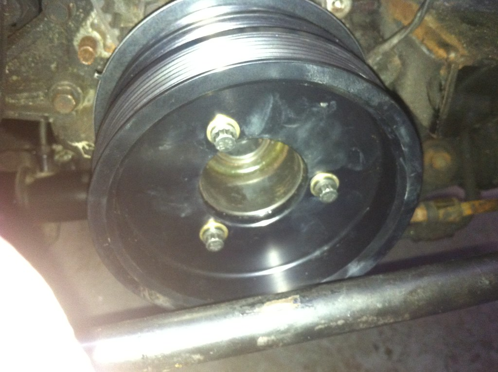 ati pulley supercharged miata