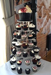 13th Birthday Horror Cupcake Tower-The Carriage Hall Nottingham