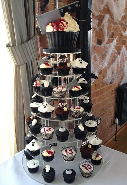 Decorating Ideas > 13th Birthday Horror Cupcake TowerThe Carriage Hall  ~ 224458_Birthday Party Ideas Nottingham