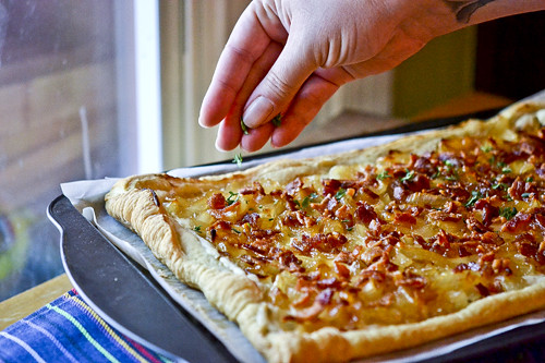 Honey-Caramelized Onion Tart 12