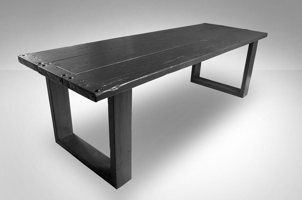 Te Koop Tafel : Eettafel raw zwart te koop bij w tdesign robuuste eu flickr