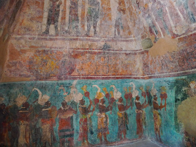 The murals at bonampak flickr photo sharing for Bonampak mural painting