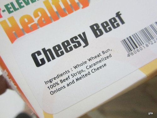 7-Eleven's Cheesy Beef Sandwich