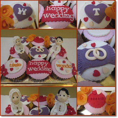 Wedding Cupcakes by DiFa Cakes