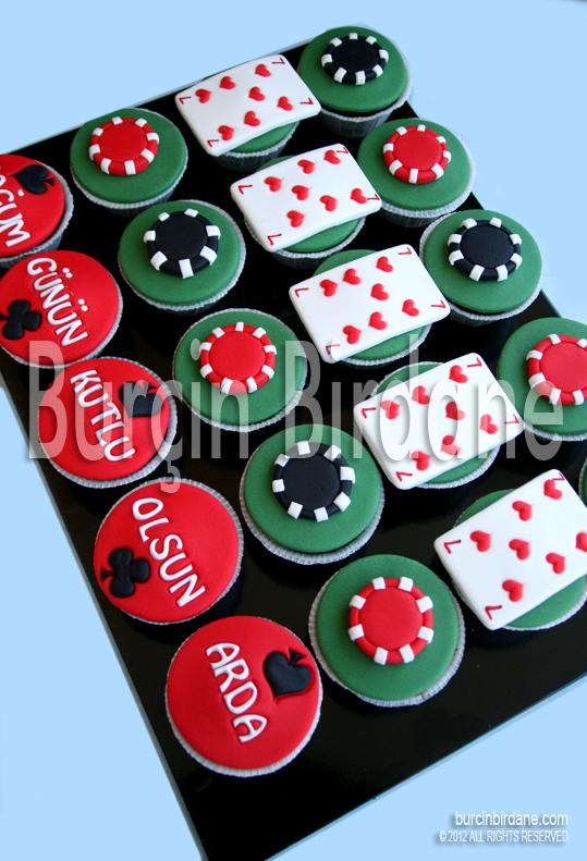 Poker Cupcake