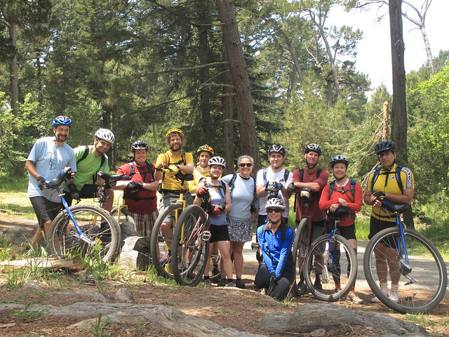 Group shot in Joaquin Miller