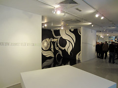 The mural skips past Lucy McLauchlan's amazing B&W section.