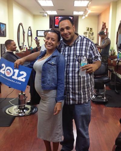 Allen in Miami supports President Obama