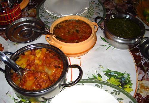 Imvangae, Isombe, and Inagaa