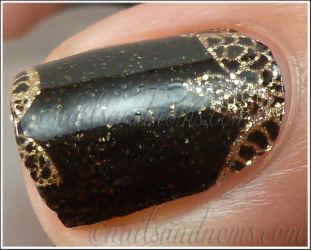 OPI Pure Lacquer Nail Apps - Gold Lace 10