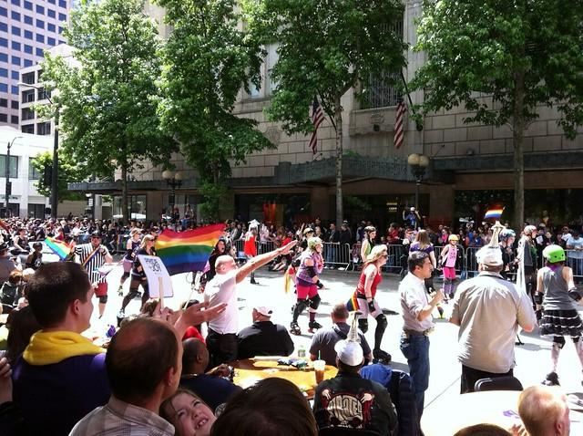 Grupo afro-americano gay de Seattle que optou por um visual de inspiração ...