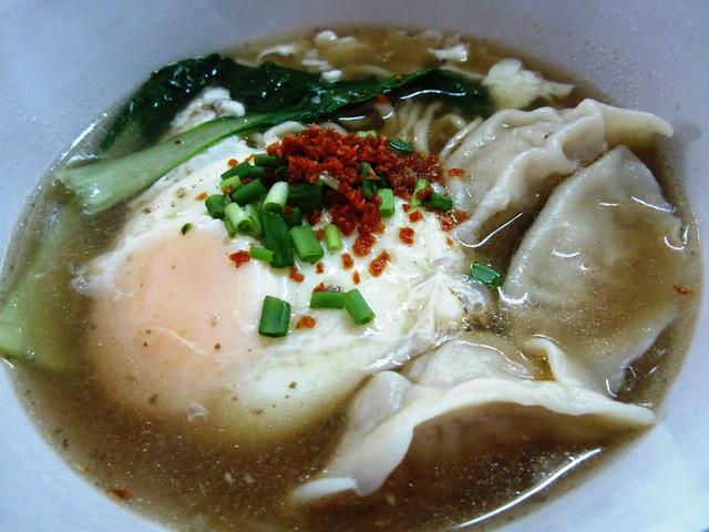 Meat dumpling noodles @ YummyKafe