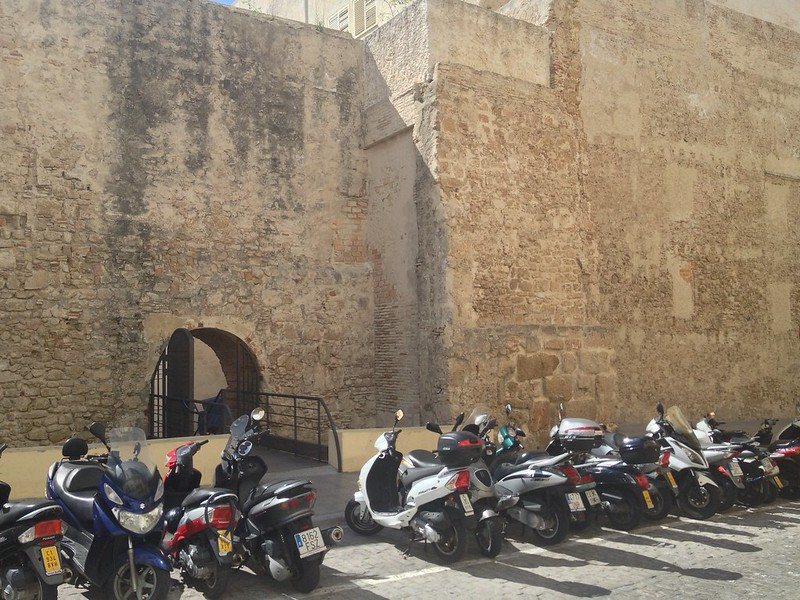Modern meets ancient: bikes vs. 700 years old walls