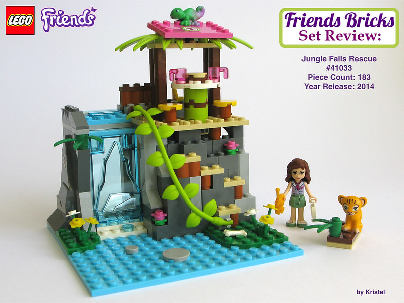 lego friends jungle falls rescue instructions