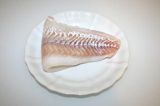 04 - Zutat Kabeljau / Ingredient codfish