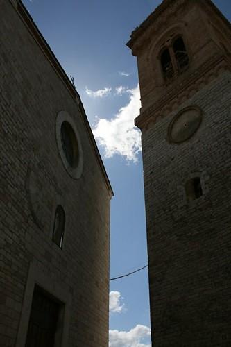 La chiesa ed il suo campanile
