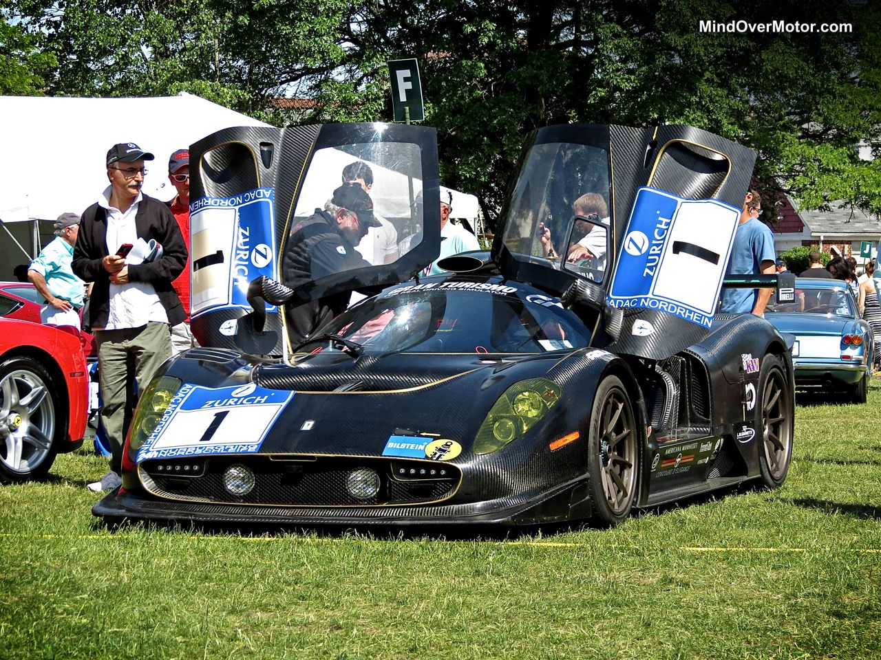 Jim Glickenhaus' P4-5 Competizione at the Greenwich Concours