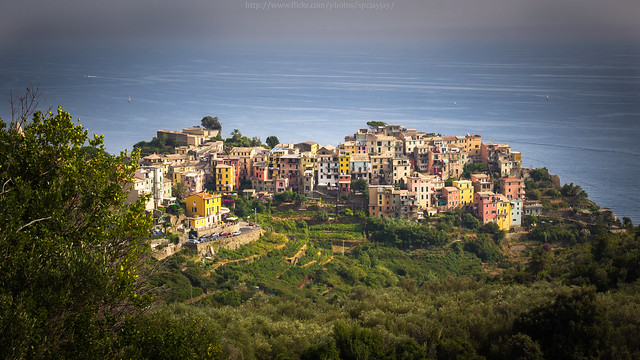 Corniglia Village, One of the Cinque Terre