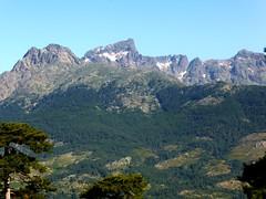 Vue vers Tafunatu, Paglia Orba, Grande Barrière et Punta Minuta